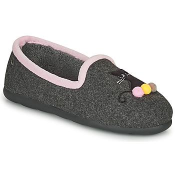 Cipők Női Mamuszok Isotoner 97311 Szürke / Rózsaszín