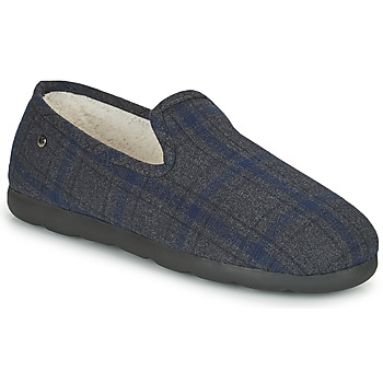 Cipők Férfi Mamuszok Isotoner 98038 Szürke / Kék