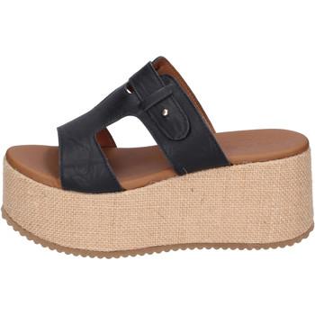 Cipők Női Papucsok Sara Collection Szandál BJ922 Fekete
