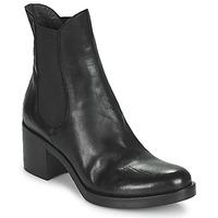 Cipők Női Bokacsizmák Fru.it ADRIANA Fekete