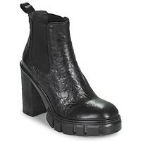 Cipők Női Bokacsizmák Fru.it CAMILLA Fekete