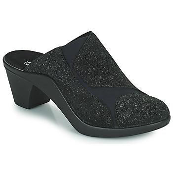 Cipők Női Papucsok Romika Westland ST TROPEZ 234 Fekete