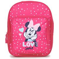 Táskák Lány Hátitáskák Disney SAC A DOS MINNIE 23 CM Rózsaszín