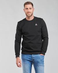 Ruhák Férfi Pulóverek Le Coq Sportif ESS CREW SWEAT N 3 M Fekete