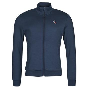 Ruhák Férfi Melegítő kabátok Le Coq Sportif ESS FZ SWEAT N 3 M Tengerész