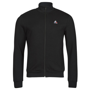 Ruhák Férfi Melegítő kabátok Le Coq Sportif ESS FZ SWEAT N 3 M Fekete