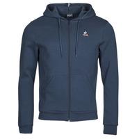 Ruhák Férfi Melegítő kabátok Le Coq Sportif ESS FZ HOODY N 3 M Tengerész