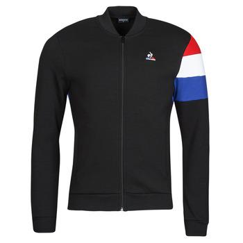Ruhák Férfi Melegítő kabátok Le Coq Sportif TRI FZ SWEAT N 1 M Fekete