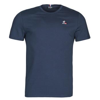 Ruhák Férfi Rövid ujjú pólók Le Coq Sportif ESS TEE SS N 3 M Tengerész
