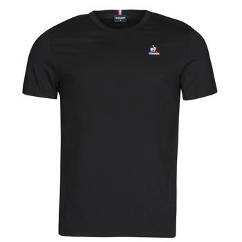 Ruhák Férfi Rövid ujjú pólók Le Coq Sportif ESS TEE SS N 3 M Fekete