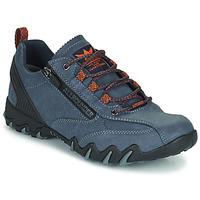 Cipők Női Rövid szárú edzőcipők Allrounder by Mephisto NAILA TEX Kék