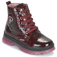 Cipők Lány Csizmák Pablosky 404167 Bordó