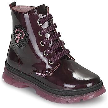Cipők Lány Csizmák Pablosky 404099 Bordó