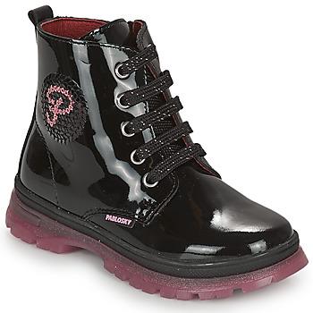 Cipők Lány Csizmák Pablosky 404019 Fekete