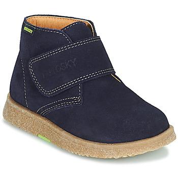 Cipők Fiú Csizmák Pablosky 502228 Tengerész
