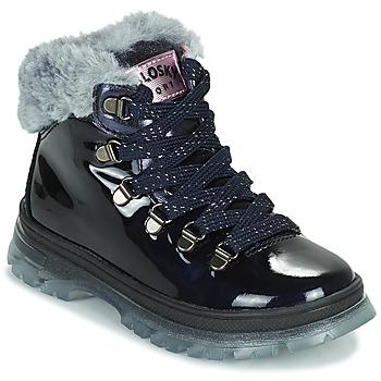 Cipők Lány Csizmák Pablosky 404429 Tengerész
