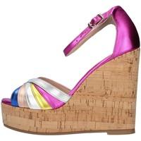 Cipők Női Szandálok / Saruk L'amour 631 FUCHSIA