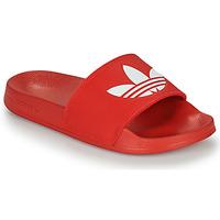 Cipők strandpapucsok adidas Originals ADILETTE LITE Piros