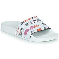 Cipők Női strandpapucsok adidas Originals ADILETTE W Fehér / Virágok