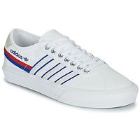 Cipők Rövid szárú edzőcipők adidas Originals DELPALA Fehér / Kék