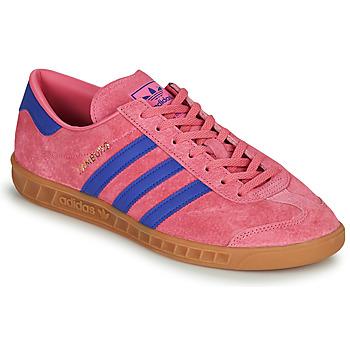 Cipők Rövid szárú edzőcipők adidas Originals HAMBURG Rózsaszín / Kék
