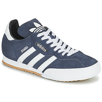 Cipők Rövid szárú edzőcipők adidas Originals SUPER SUEDE Tengerész / Kék