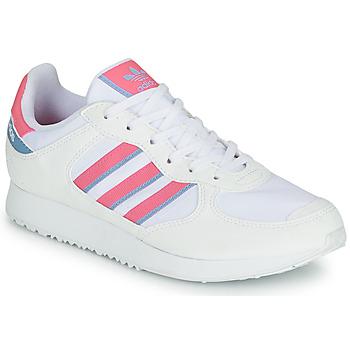 Cipők Női Rövid szárú edzőcipők adidas Originals SPECIAL 21 W Fehér / Rózsaszín
