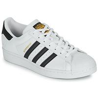 Cipők Rövid szárú edzőcipők adidas Originals SUPERSTAR VEGAN Fehér / Fekete