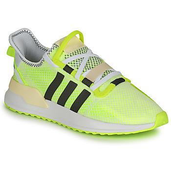 Cipők Férfi Rövid szárú edzőcipők adidas Originals U_PATH RUN Fehér / Citromsárga
