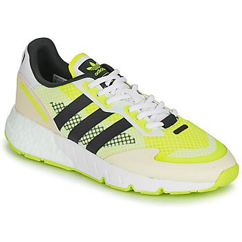 Cipők Férfi Rövid szárú edzőcipők adidas Originals ZX 1K BOOST Fehér / Citromsárga