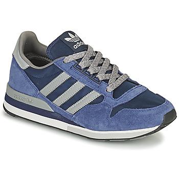 Cipők Rövid szárú edzőcipők adidas Originals ZX 500 Kék / Szürke
