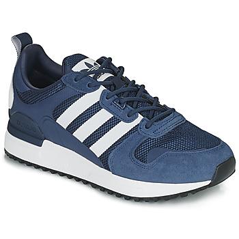 Cipők Rövid szárú edzőcipők adidas Originals ZX 700 HD Kék / Fehér