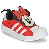 Cipők Lány Rövid szárú edzőcipők adidas Originals SUPERSTAR 360 C Piros / Minnie