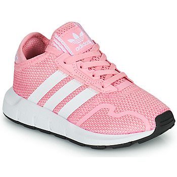 Cipők Lány Rövid szárú edzőcipők adidas Originals SWIFT RUN X C Rózsaszín