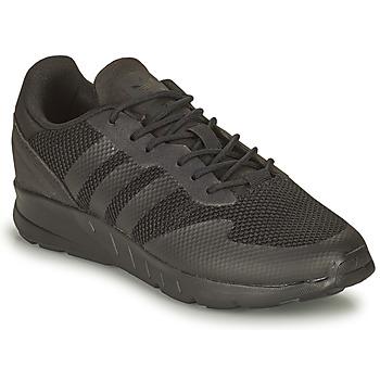 Cipők Fiú Rövid szárú edzőcipők adidas Originals ZX 1K C Fekete