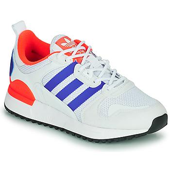 Cipők Gyerek Rövid szárú edzőcipők adidas Originals ZX 700 HD J Kék / Fehér / Piros