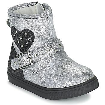 Cipők Lány Csizmák Primigi BABY LUX Ezüst