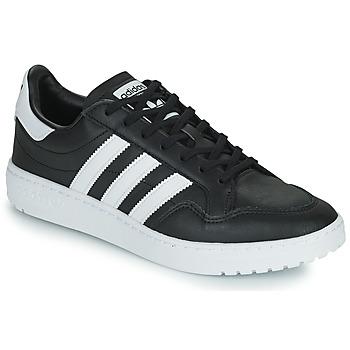 Cipők Rövid szárú edzőcipők adidas Originals MODERN 80 EUR COURT Fekete  / Fehér
