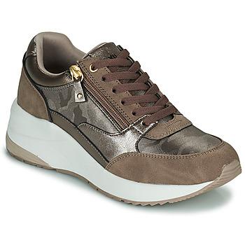 Cipők Női Rövid szárú edzőcipők Xti 43124 Barna / Bronz