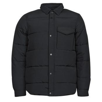 Ruhák Férfi Steppelt kabátok Scotch & Soda WATER-REPELLENT SHIRT Fekete