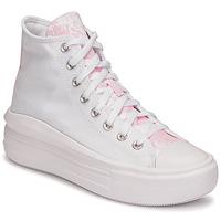 Cipők Női Magas szárú edzőcipők Converse CHUCK TAYLOR ALL STAR MOVE HYBRID FLORAL HI Fehér