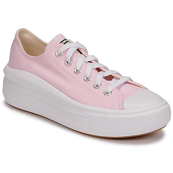 Cipők Női Rövid szárú edzőcipők Converse CHUCK TAYLOR ALL STAR MOVE SEASONAL COLOR OX Rózsaszín