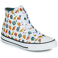 Cipők Gyerek Magas szárú edzőcipők Converse CHUCK TAYLOR ALL STAR DINO DAZE HI Fehér / Zöld / Narancssárga