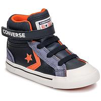 Cipők Gyerek Magas szárú edzőcipők Converse PRO BLAZE STRAP LEATHER TWIST HI Kék