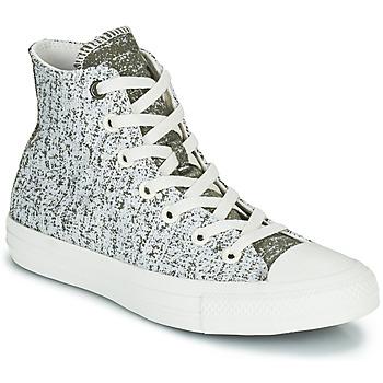 Cipők Női Magas szárú edzőcipők Converse CHUCK TAYLOR ALL STAR HYBRID TEXTURE HI Szürke