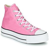 Cipők Női Magas szárú edzőcipők Converse CHUCK TAYLOR ALL STAR LIFT SEASONAL COLOR HI Rózsaszín