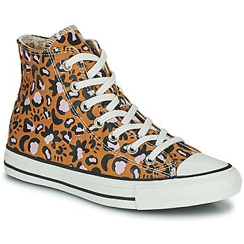 Cipők Női Magas szárú edzőcipők Converse CHUCK TAYLOR ALL STAR MYSTIC WORLD HI Mustár sárga / Rózsaszín