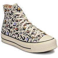Cipők Női Magas szárú edzőcipők Converse CHUCK TAYLOR ALL STAR LIFT MYSTIC WORLD HI Fehér / Sokszínű