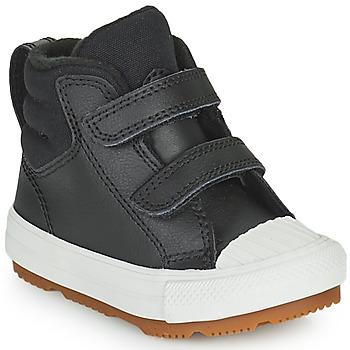 Cipők Gyerek Magas szárú edzőcipők Converse CHUCK TAYLOR ALL STAR BERKSHIRE BOOT SEASONAL LEATHER HI Fekete