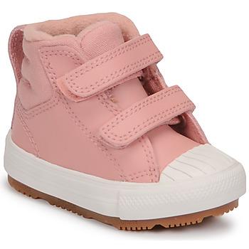 Cipők Lány Magas szárú edzőcipők Converse CHUCK TAYLOR ALL STAR BERKSHIRE BOOT SEASONAL LEATHER HI Rózsaszín